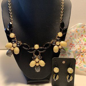 Necklace with Earrings.